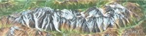 Pano Mont Blanc versant sud est