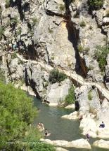 Fontcalda, les passerelles du Riu Canaleta