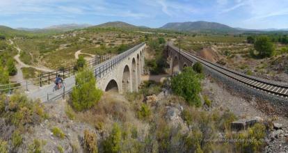 Via Verde de Ojos Negros, Caudiel, Valencia