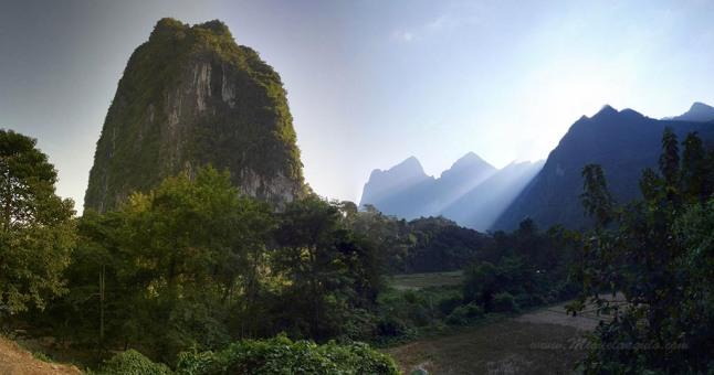 Mont Pha Tok, Nong Khiaw (Laos)