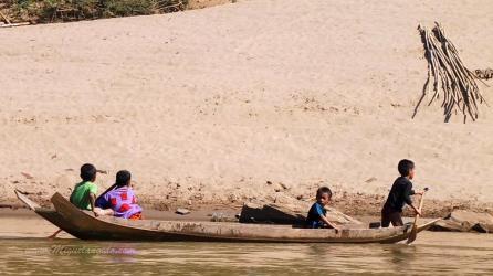 En remontant la Nam Ou vers Muang Khua (Laos)